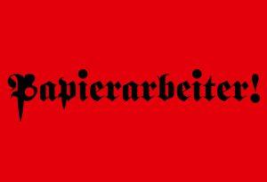 "2017 – ""Papierarbeiter !"", inter-port, Berlin"